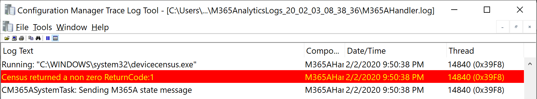 M365AHandler.log error